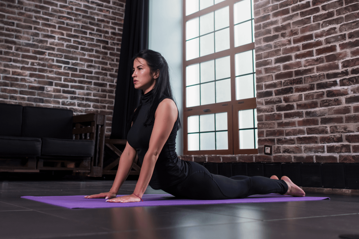 The 6mm Gaiam Print yoga mat is perhaps the most popular best yoga mat for beginners
